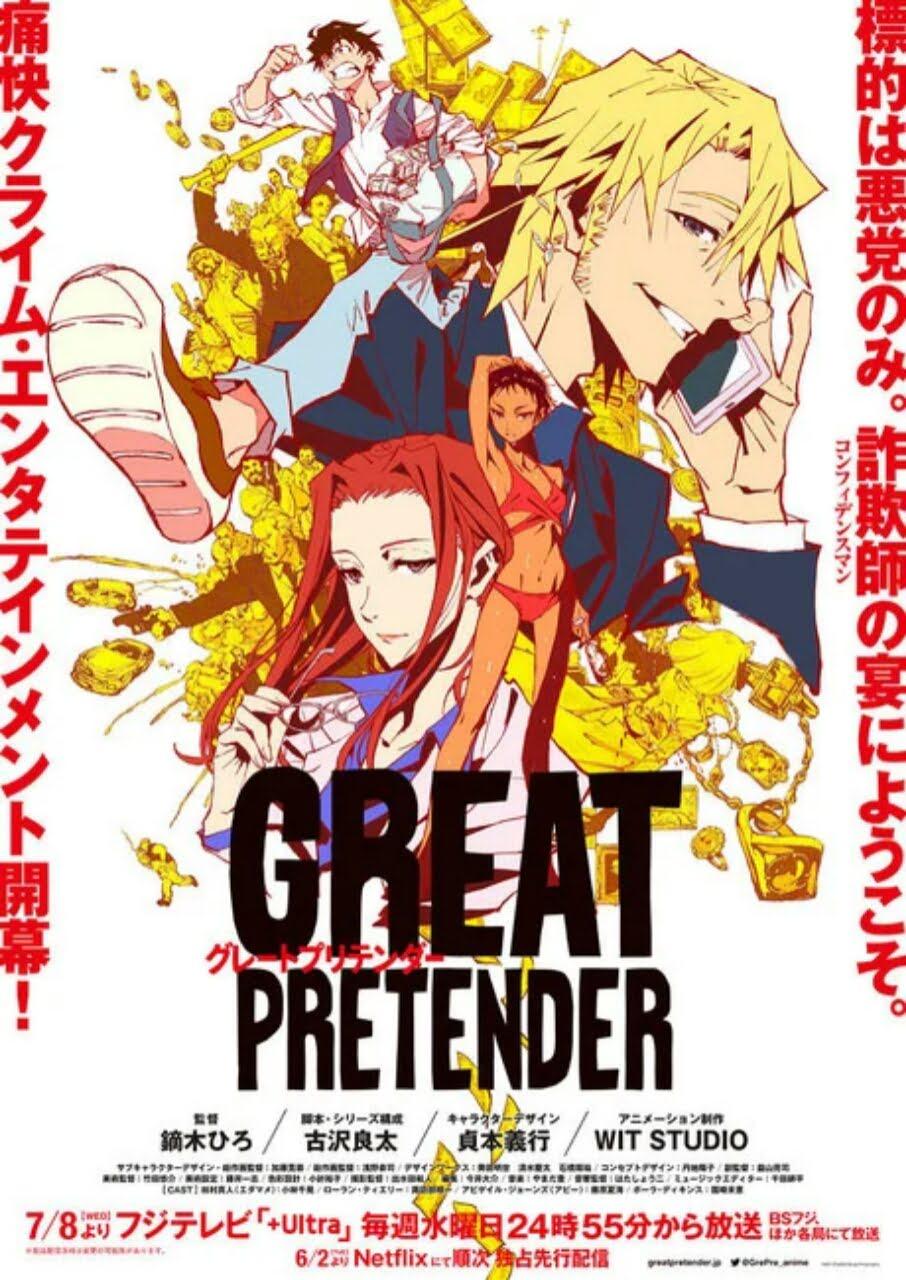 Video Baru Anime Great Pretender Garapan WIT Studio Ungkap Tanggal Tayangnya di Netflix di Jepang 1