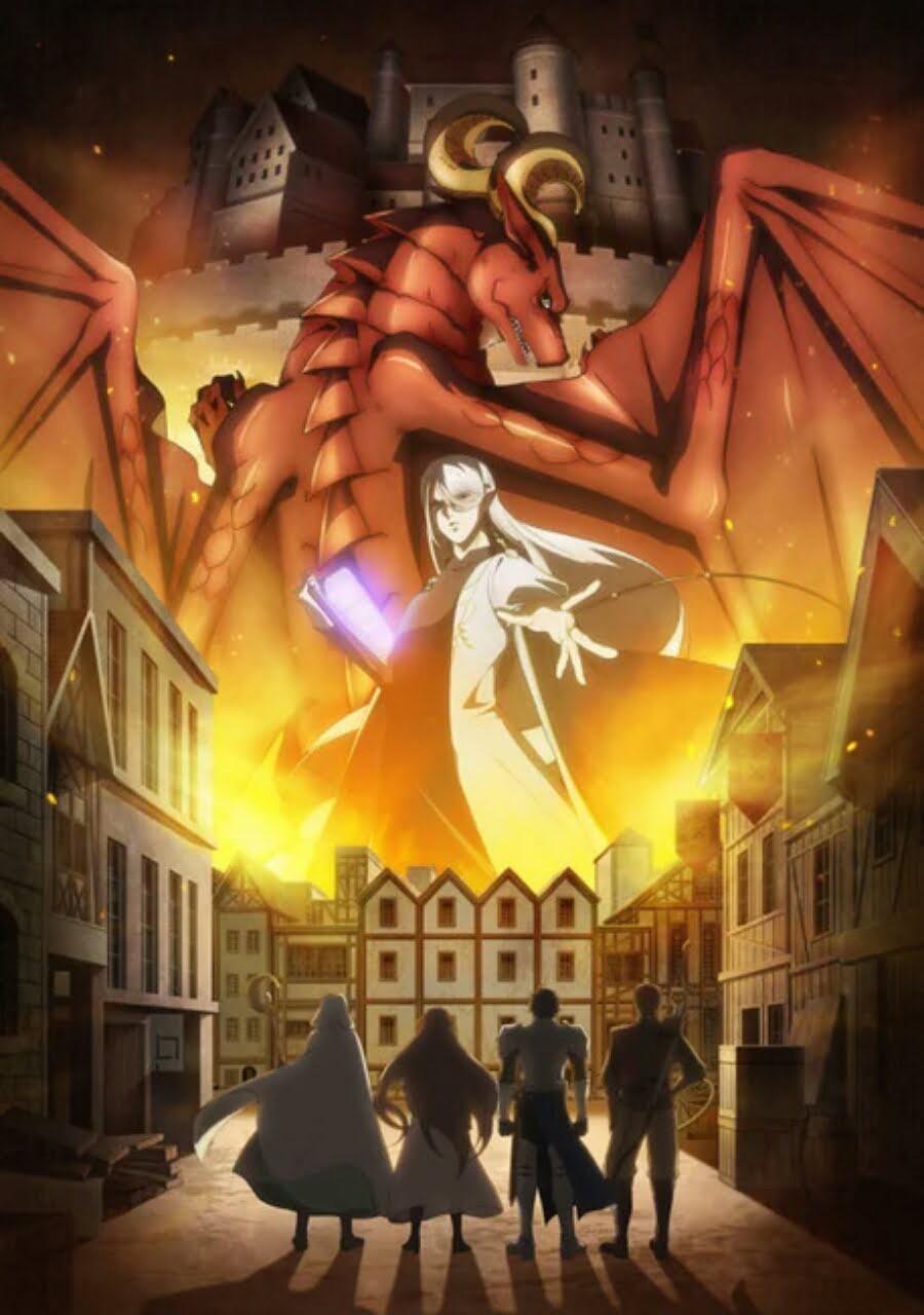 Anime Dragon Goes House-Hunting Ungkap Staf, Visual, Format Animenya 1