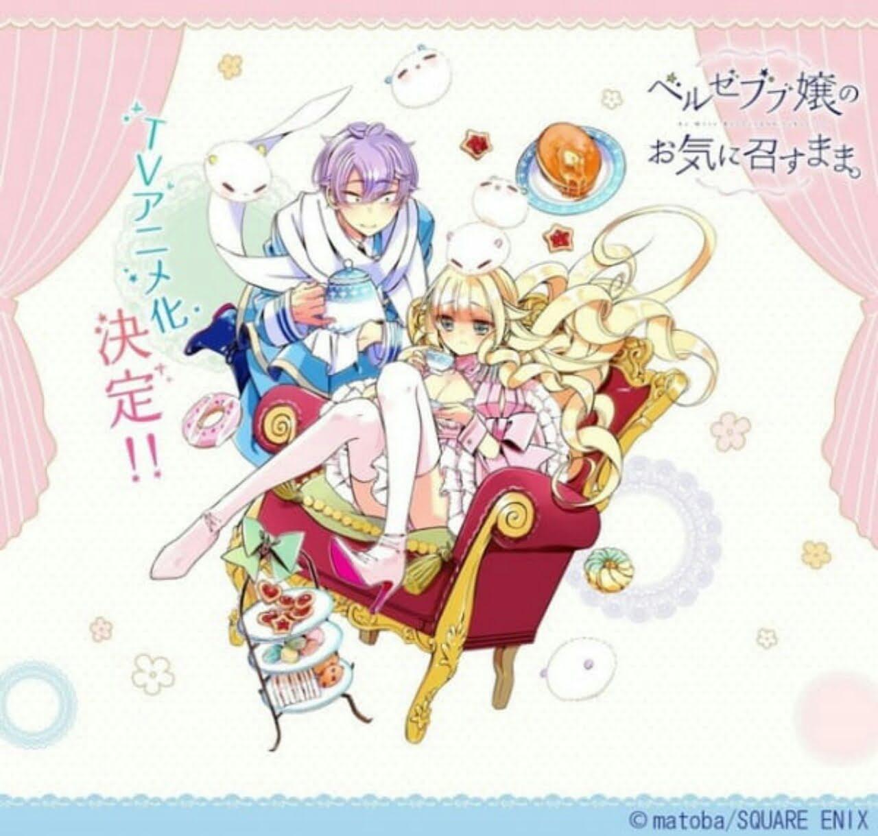 matoba, Kreator Manga As Miss Beelzebub Likes, Mempersiapkan Karya Baru 1