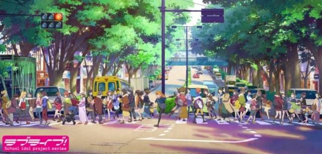Anime Love Live! Baru Ungkap Nama Karakter, Visual Baru, Staf yang Kembali 2