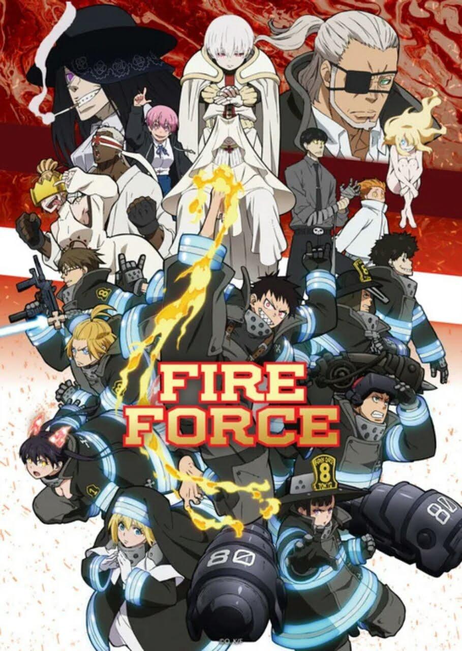 Season Kedua Anime Fire Force Ungkap Video Promosi, Seiyuu dan Staf Baru, Lagu Pembuka, dan Kapan Debutnya 1