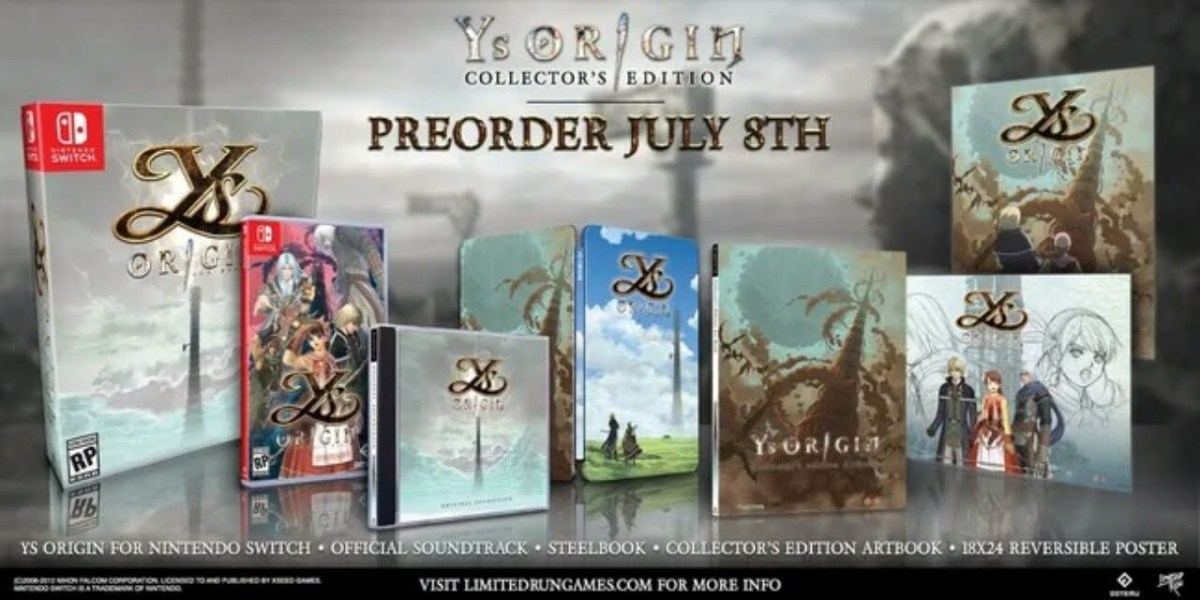 Tanggal Rilis Game Ys Origin untuk Switch Telah Diungkap 2