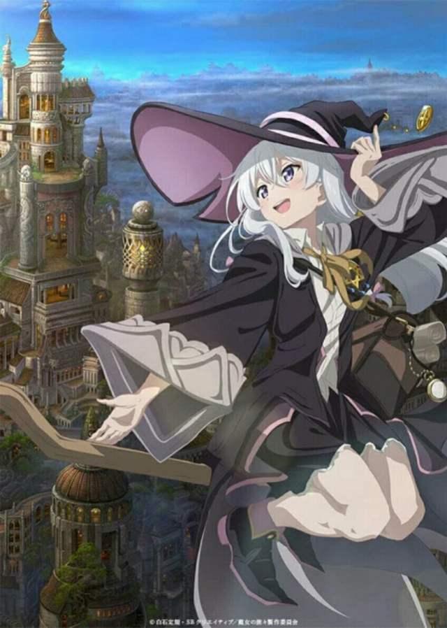 Anime Wandering Witch - The Journey of Elaina Rilis Video Promosi, Tayang Perdana Pada 2 Oktober 1