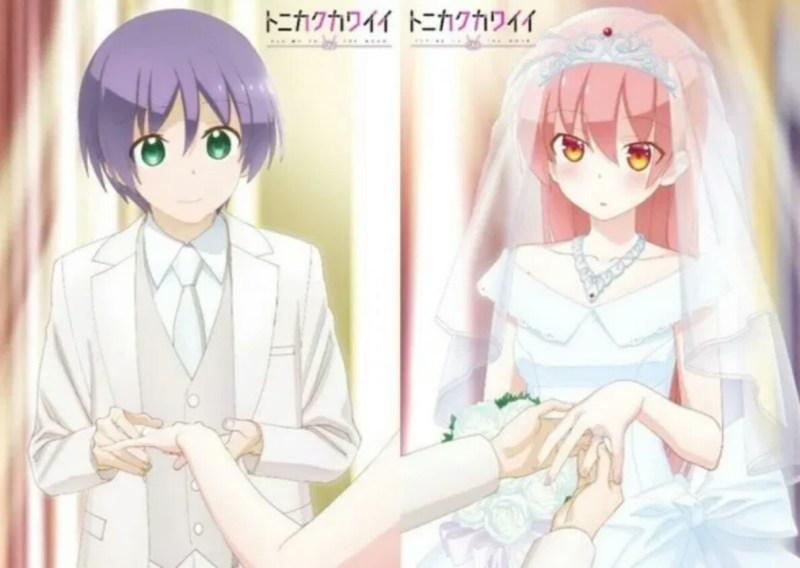 Anime Tonikaku Kawaii Ungkap Seiyuu Lainnya dan Penyanyi Lagu Tema 1