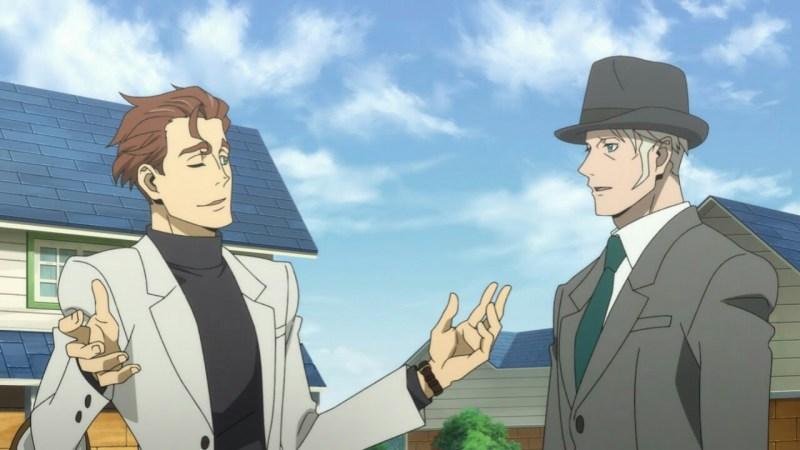 Cuplikan Film BEM: Become Human Memperlihatkan Burgess dan Belm 1