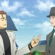 Cuplikan Film BEM: Become Human Memperlihatkan Burgess dan Belm 12