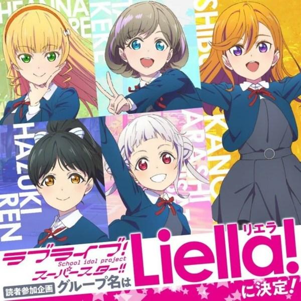 Anime Love Live! Superstar!! Ungkap Nama Grup Idolnya: 'Liella' 1