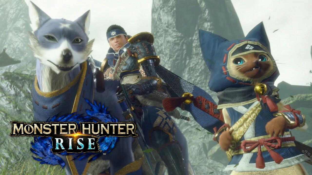 Capcom Umumkan Game Switch Monster Hunter Rise untuk Maret 2021 1