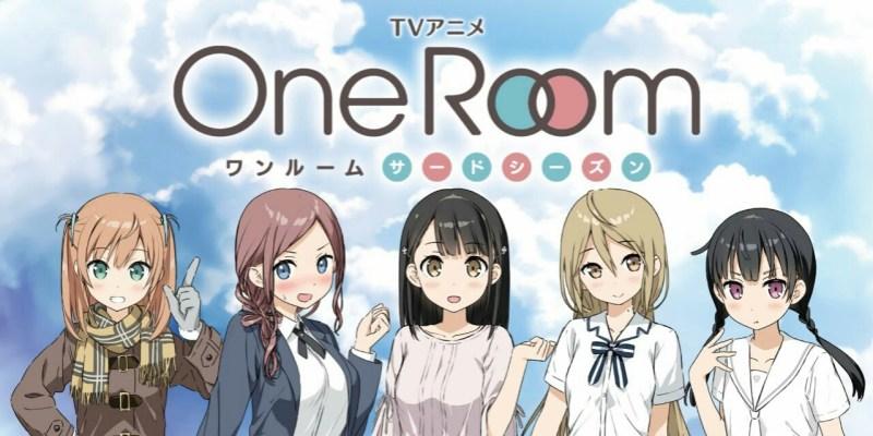 Video Promosi Anime One Room: Third Season Dirilis 1