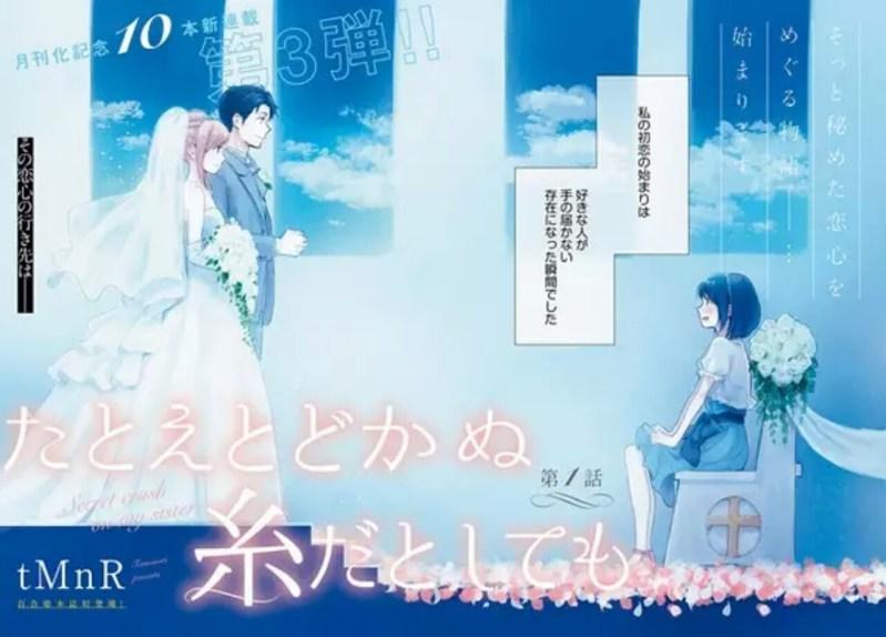 Manga If I Could Reach You Karya tMnR akan Mencapai Klimaks pada Bulan Oktober 1