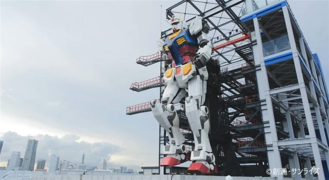 Grand Opening Patung Gundam Bergerak Ukuran Asli Sekarang Dijadwalkan untuk Tanggal 19 Desember 1