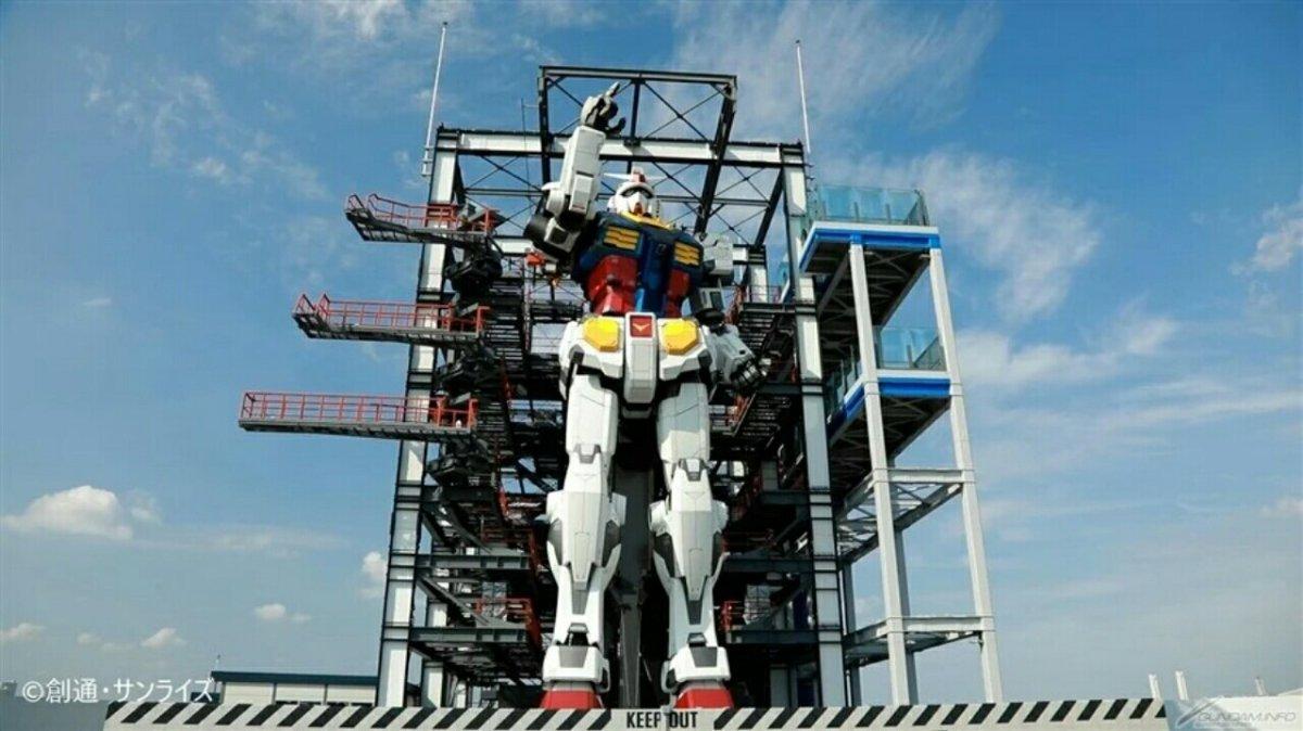 Grand Opening Patung Gundam Bergerak Ukuran Asli Sekarang Dijadwalkan untuk Tanggal 19 Desember 3