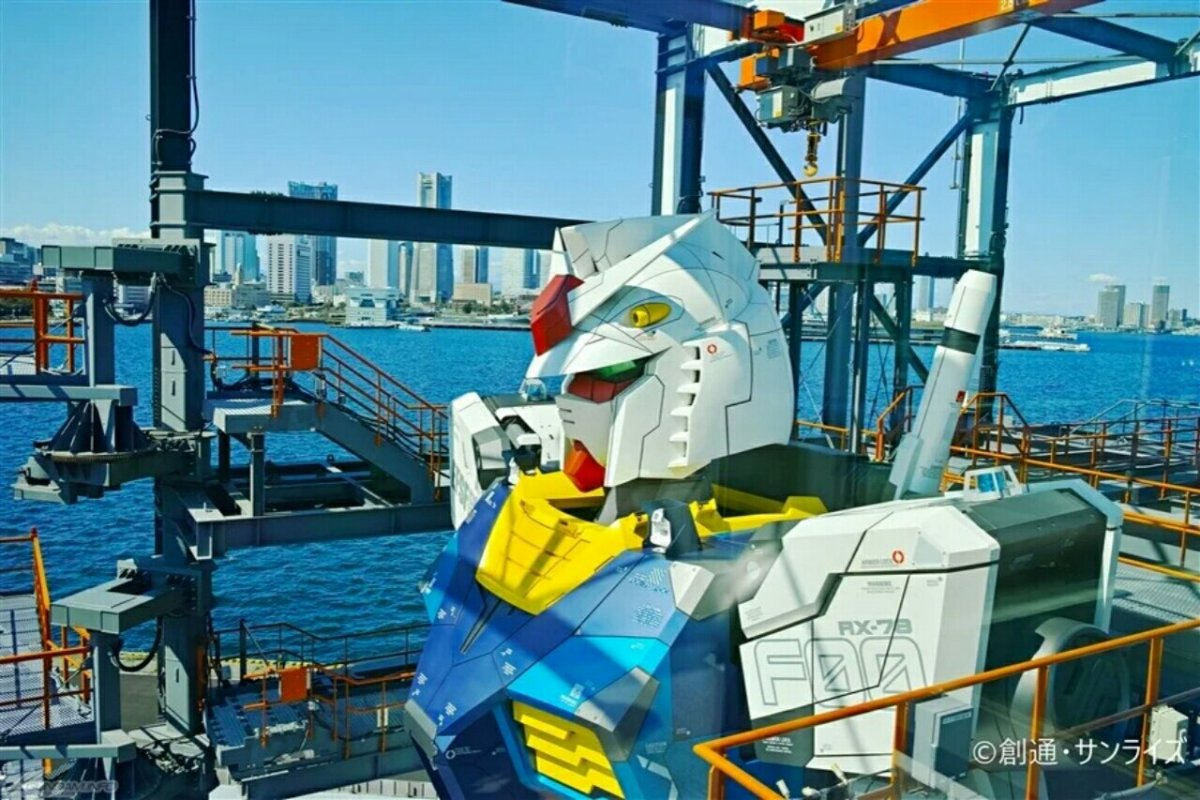 Grand Opening Patung Gundam Bergerak Ukuran Asli Sekarang Dijadwalkan untuk Tanggal 19 Desember 4
