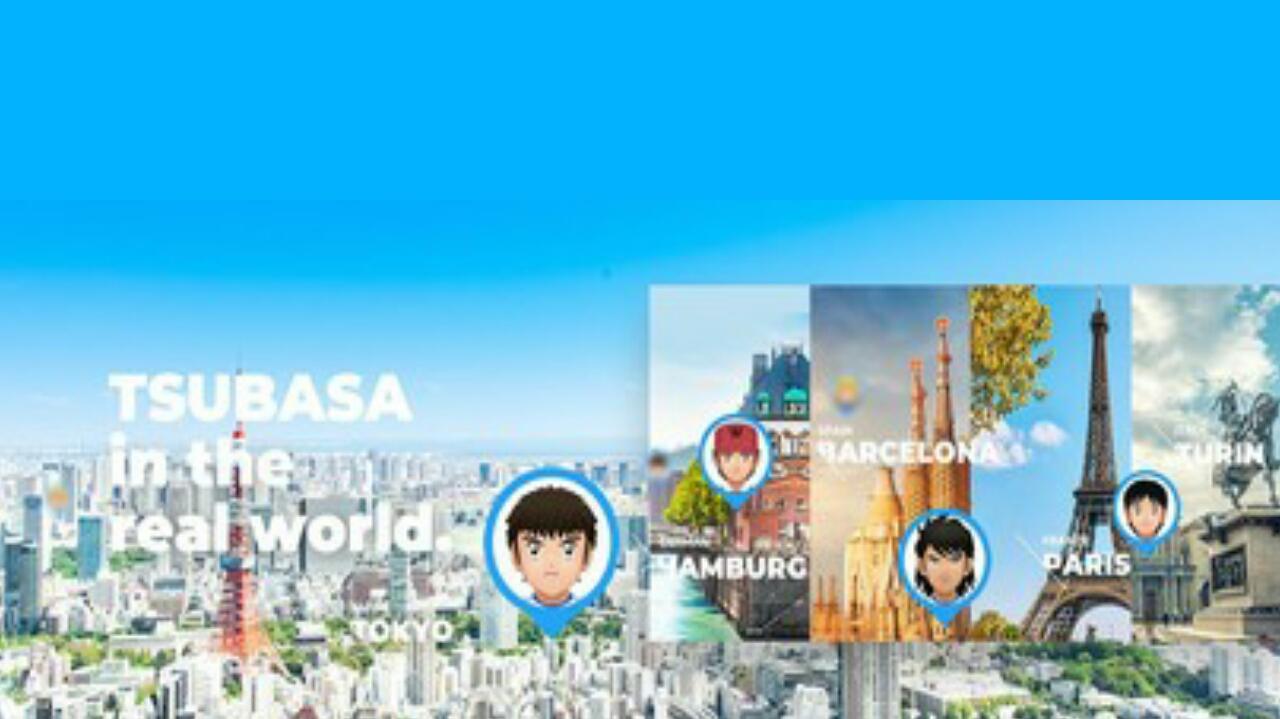 Game Sepak Bola AR Smartphone Captain Tsubasa akan Diluncurkan di Eropa pada Tanggal 30 September, Asia/Oceania pada Tanggal 15 Oktober 1