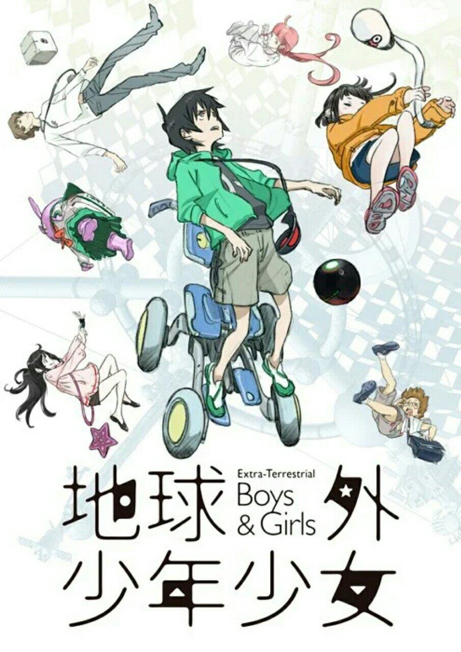 Mitsuo Iso Ungkap Studio Baru Anime Extra-Terrestrial Boys & Girls, Tahun Debutnya, dan Visual 2