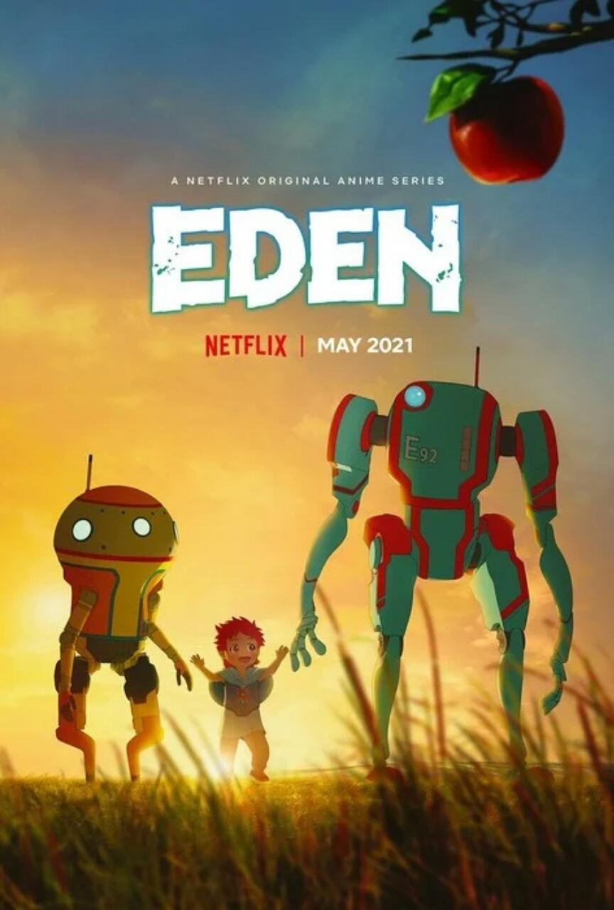 Anime Eden dari Netflix Ungkap Seiyuu, Penundaan ke Mei 2021, Visual Baru 1