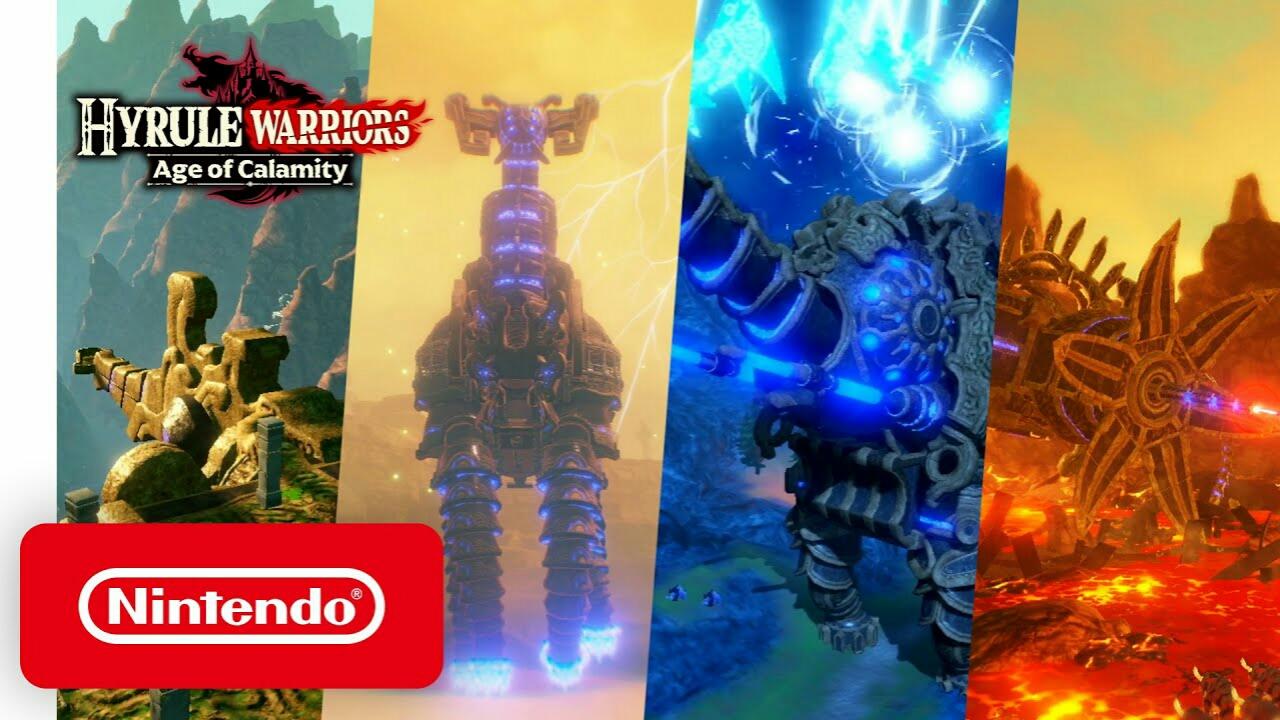 Video Promosi Game Hyrule Warriors: Age of Calamity Memperlihatkan Divine Beasts dan Ungkap Demo 1