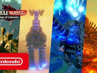 Video Promosi Game Hyrule Warriors: Age of Calamity Memperlihatkan Divine Beasts dan Ungkap Demo 3