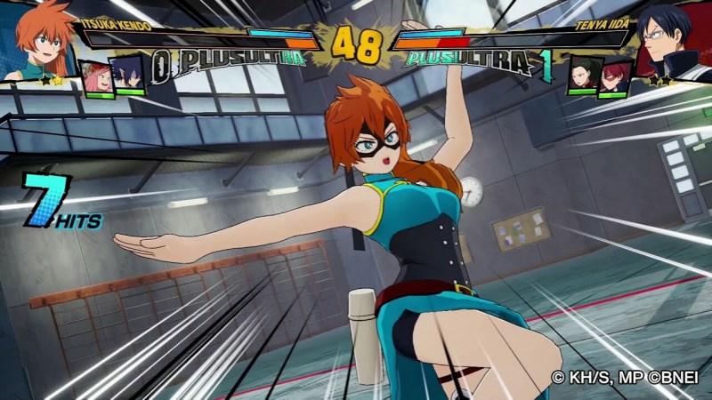 Game My Hero One's Justice 2 Perlihatkan Karakter DLC Itsuka Kendo dalam Trailer 1