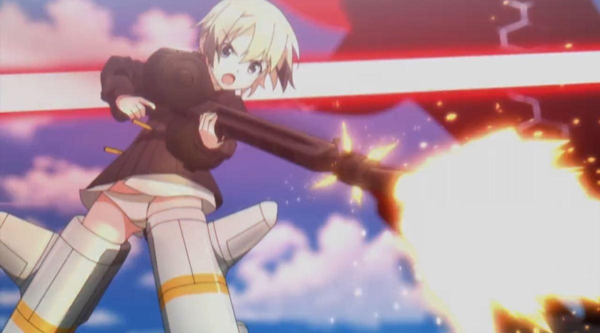 Nikmati Keindahan Cuplikan Pantsu Dari Anime Strike Witches Road to Berlin 34
