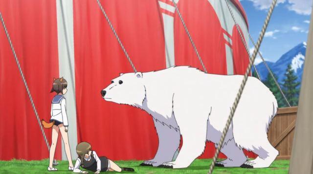 Nikmati Keindahan Cuplikan Pantsu Dari Anime Strike Witches Road to Berlin 55