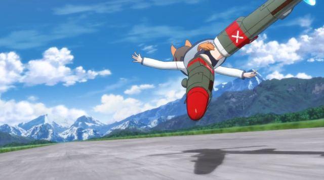 Nikmati Keindahan Cuplikan Pantsu Dari Anime Strike Witches Road to Berlin 71