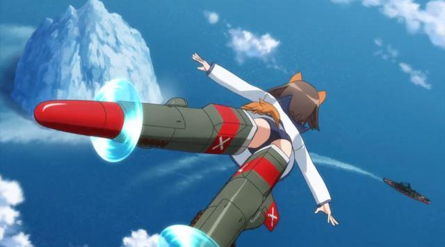 Nikmati Keindahan Cuplikan Pantsu Dari Anime Strike Witches Road to Berlin 81