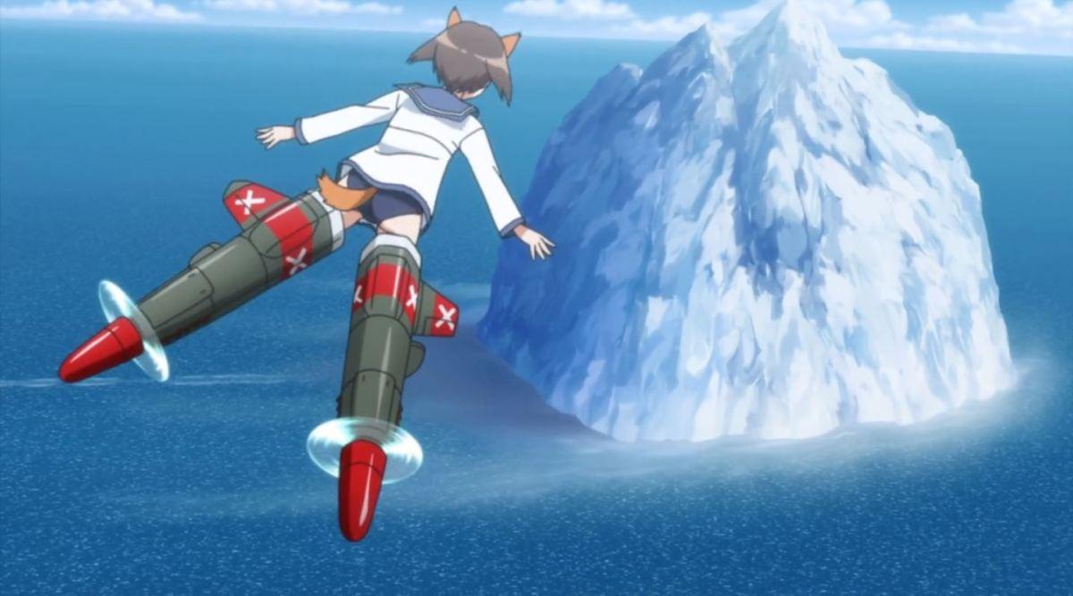 Nikmati Keindahan Cuplikan Pantsu Dari Anime Strike Witches Road to Berlin 82