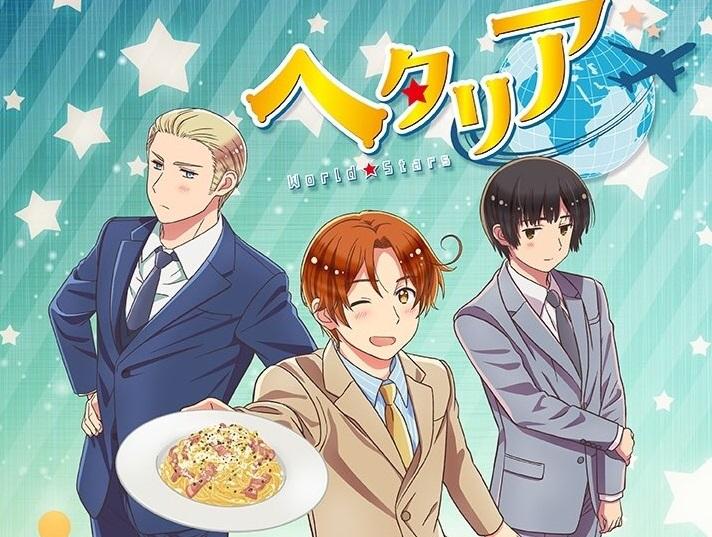 Manga Hetalia World Stars Mendapatkan Adaptasi Anime 1