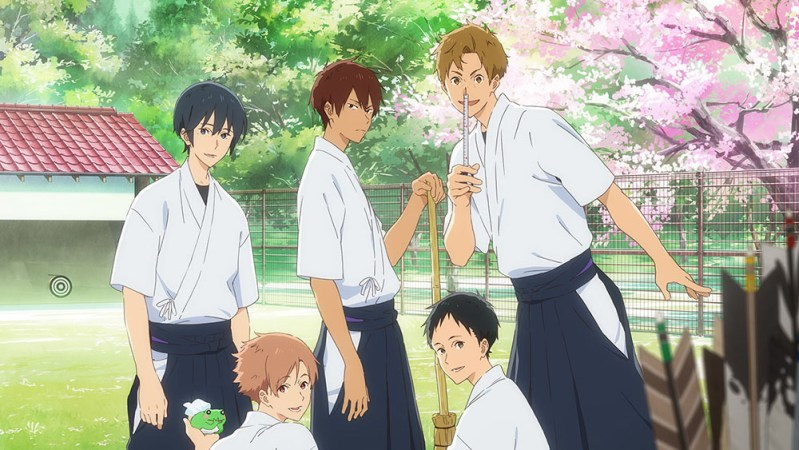 Anime 'Tsurune: Kazemai High School Archery Club' Mendapatkan Adaptasi Film Movie 1