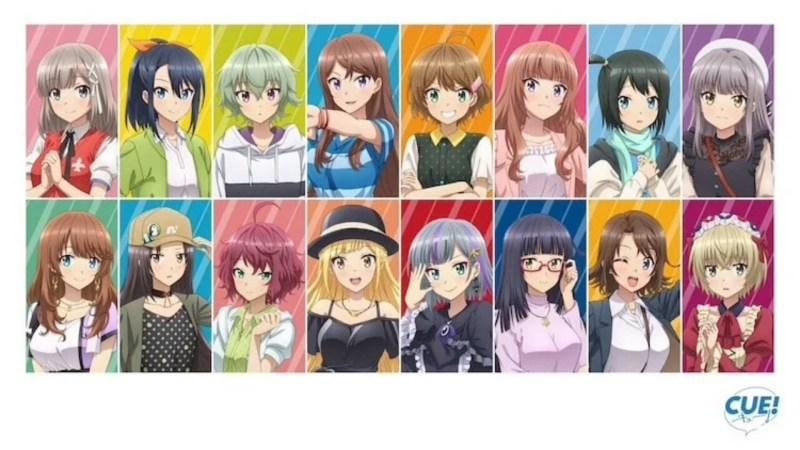 Game Pelatihan Idol Berjudul Cue! dari Liber Entertainment Dapatkan Anime TV 1