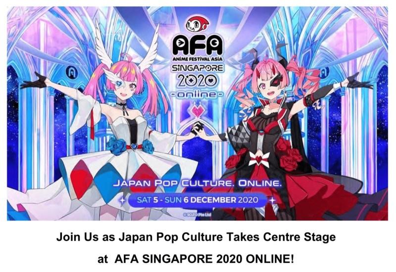 Anime Festival Asia - Singapore 2020 LINE UP J-Pop Idol & Puluhan Konten Siap Gempur AFA Fans Dalam Format Online! 1