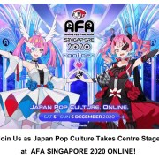 Anime Festival Asia - Singapore 2020 LINE UP J-Pop Idol & Puluhan Konten Siap Gempur AFA Fans Dalam Format Online! 9