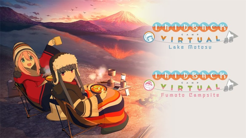Game Virtual Reality YuruCamp Akan Rilis Pada Maret & April 2021! 1