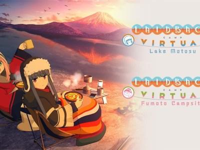 Game Virtual Reality YuruCamp Akan Rilis Pada Maret & April 2021! 4