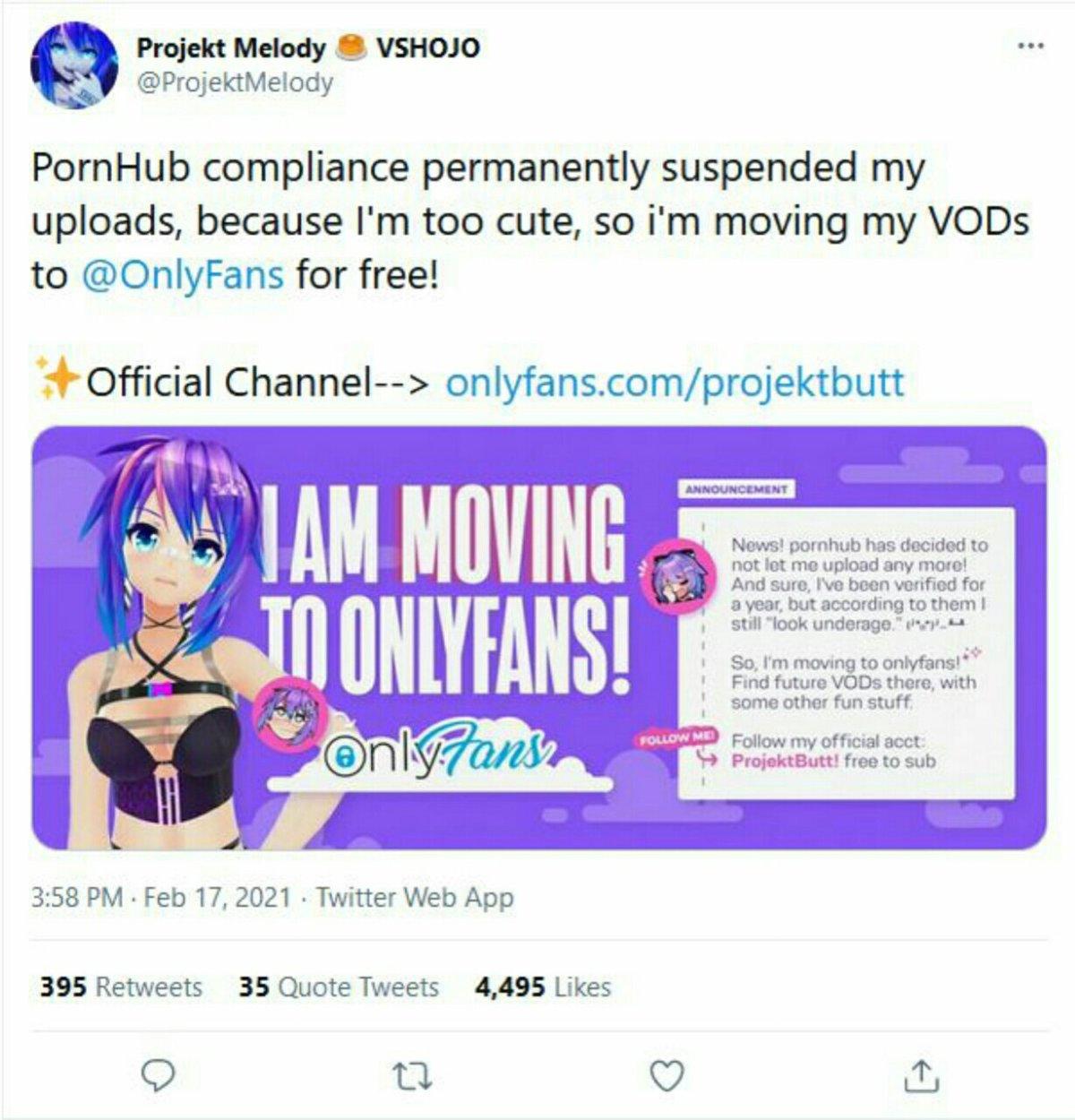 """Projekt Melody Dilarang Mengunggah di PornHub karena """"Terlihat Masih Di Bawah Umur"""" 2"""
