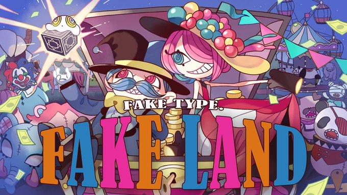 FAKE LAND Special Live di Sanrio Puroland Akan Digelar Pada tanggal 17 Februari. 2