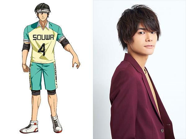 Anime Shakunetsu Kabaddi Ungkap Para Pemeran yang akan Bermain di Tim SMA Souwa 4
