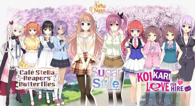 Cafe Stella, Sugar * Style, dan KoiKari: Love for Hire Resmi Mendapatkan Terjemahan Bahasa Inggris 1