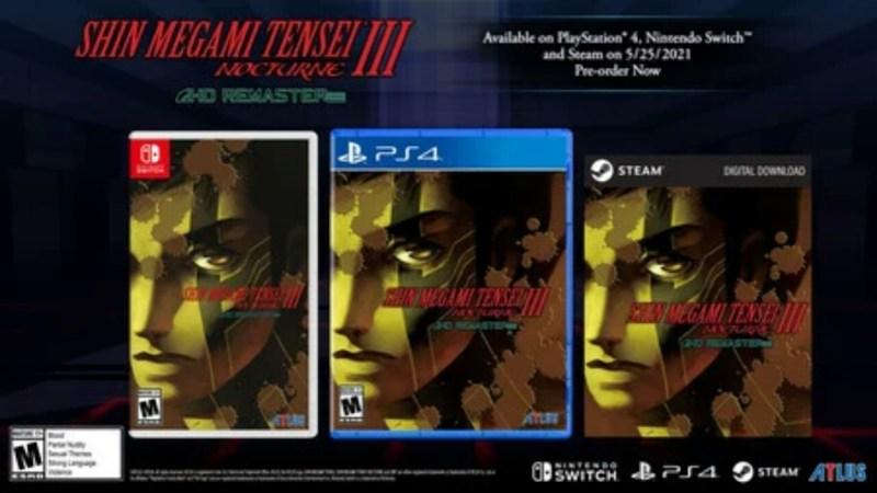 Game Shin Megami Tensei III Nocturne HD Remaster akan Diluncurkan pada Tanggal 25 Mei dengan Rilisan Steam Juga 1