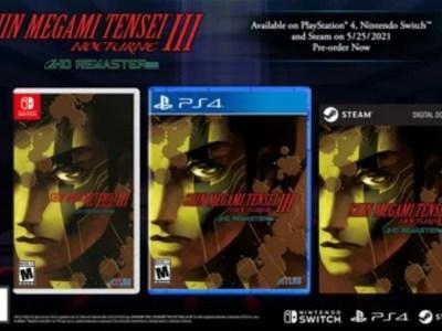 Game Shin Megami Tensei III Nocturne HD Remaster akan Diluncurkan pada Tanggal 25 Mei dengan Rilisan Steam Juga 4