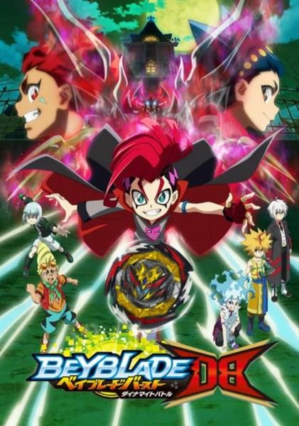 Anime Beyblade Burst Dynamite Battle Ungkap Visual, Staf, Tanggal Tayang Perdana 1