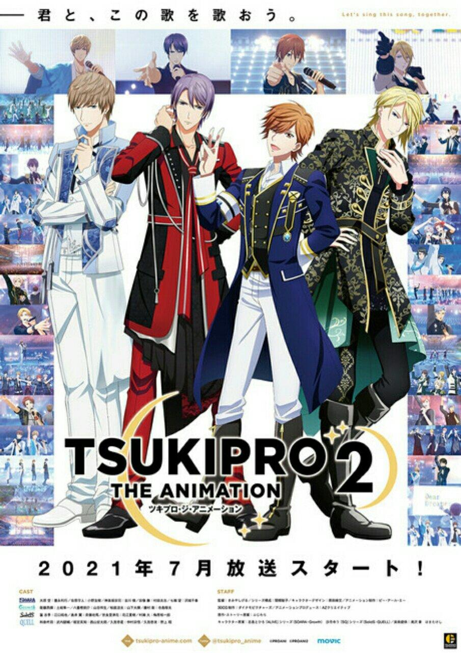 Anime Tsukipro the Animation 2 Ungkap Key Visual, 4 Lagu Tema, Staf Baru, dan Kapan Tayangnya 2