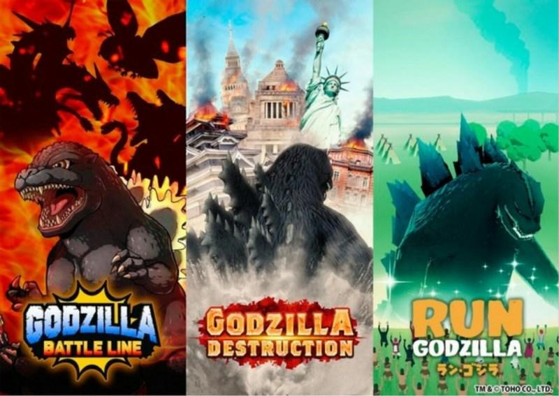 Waralaba Godzilla Mendapatkan 3 Game Smartphone Baru 1