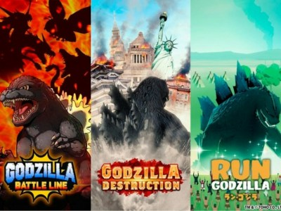 Waralaba Godzilla Mendapatkan 3 Game Smartphone Baru 23