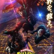 Film My Hero Academia The Movie: World Heroes' Mission Merilis Key Art 16