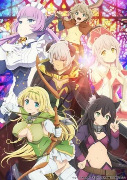 Anime How NOT to Summon a Demon Lord Omega Diperankan oleh Kazuyuki Okitsu dan Maki Kawase 1