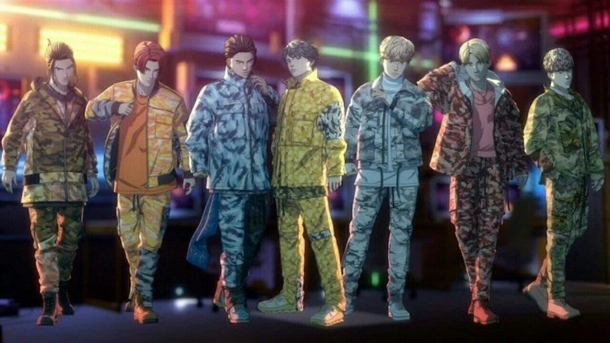 """Anggota Jr.EXILE Berkolaborasi pada Proyek """"Realitas Campuran"""" Battle of Tokyo dari LDH Japan dengan Anime dan Game 5"""
