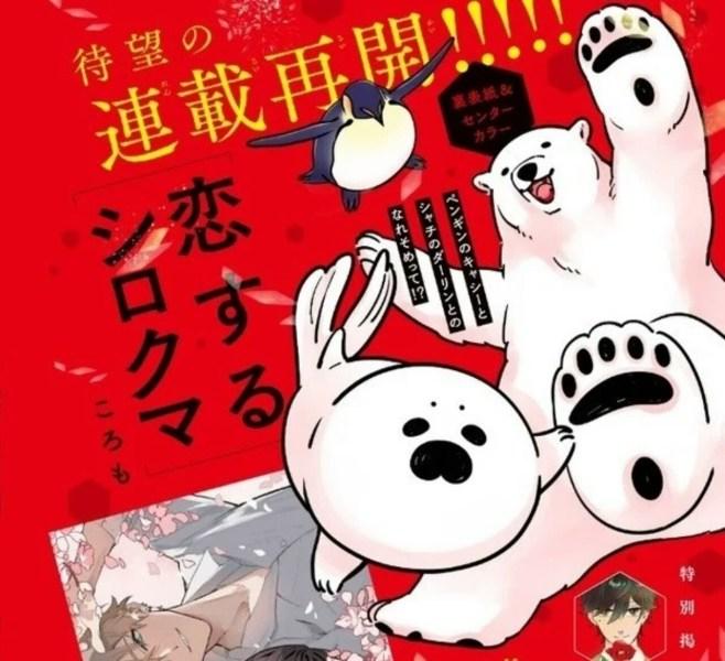 Manga A Polar Bear in Love Akan Dilanjutkan pada Bulan Mei 1