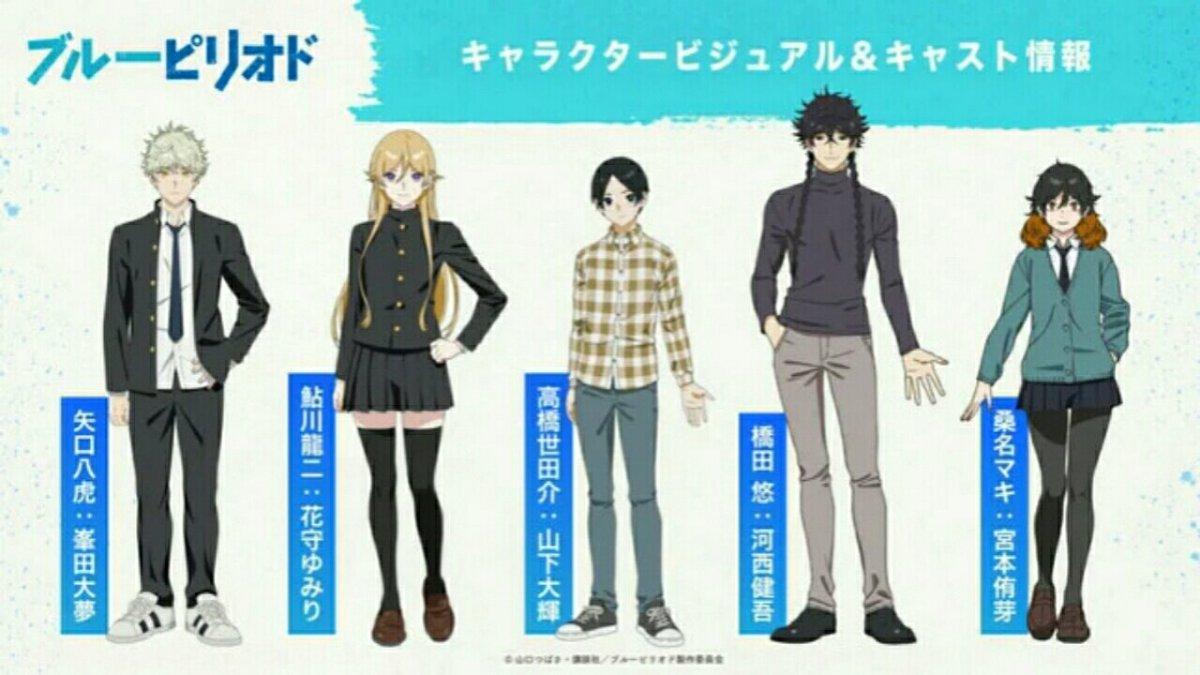 Anime Blue Period Akan Tayang pada Bulan Oktober 2